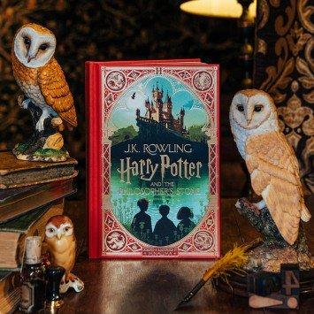 Harry Potter and the Philosopher's Stone · J.K. Rowling (MinaLima) (English)