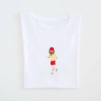 Camiseta · I just felt like running