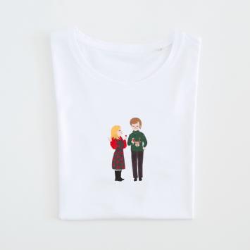 Camiseta · Bridget & Darcy