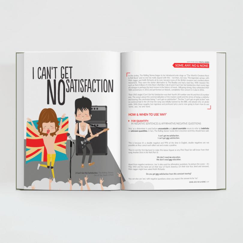 Guía musical de la gramática inglesa · All You Need is English